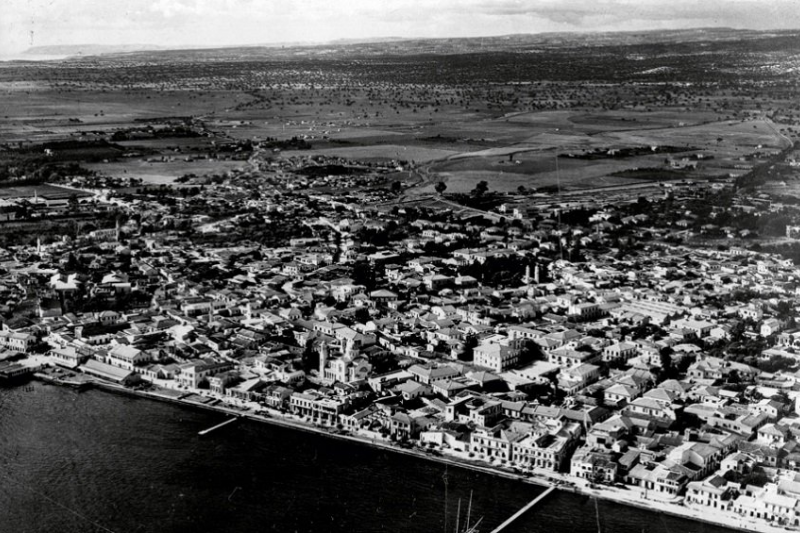 Limassol from above in 1946.