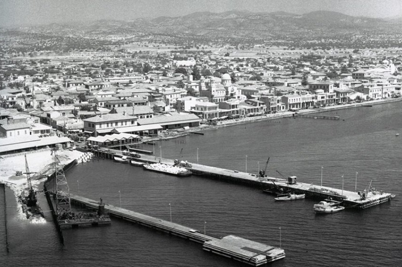 The Limassol Marina location in a photo by Reno Wideson.