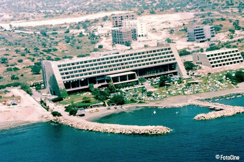 Amathus hotel around 1980.
