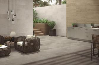 Stucco 30x60 porcelain floor and wall tiles. By Azteca