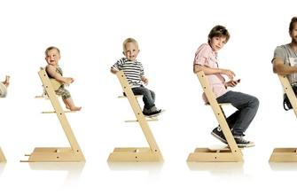Stokke Tripp Trapp. The chair that grows with the child.™ From birth.