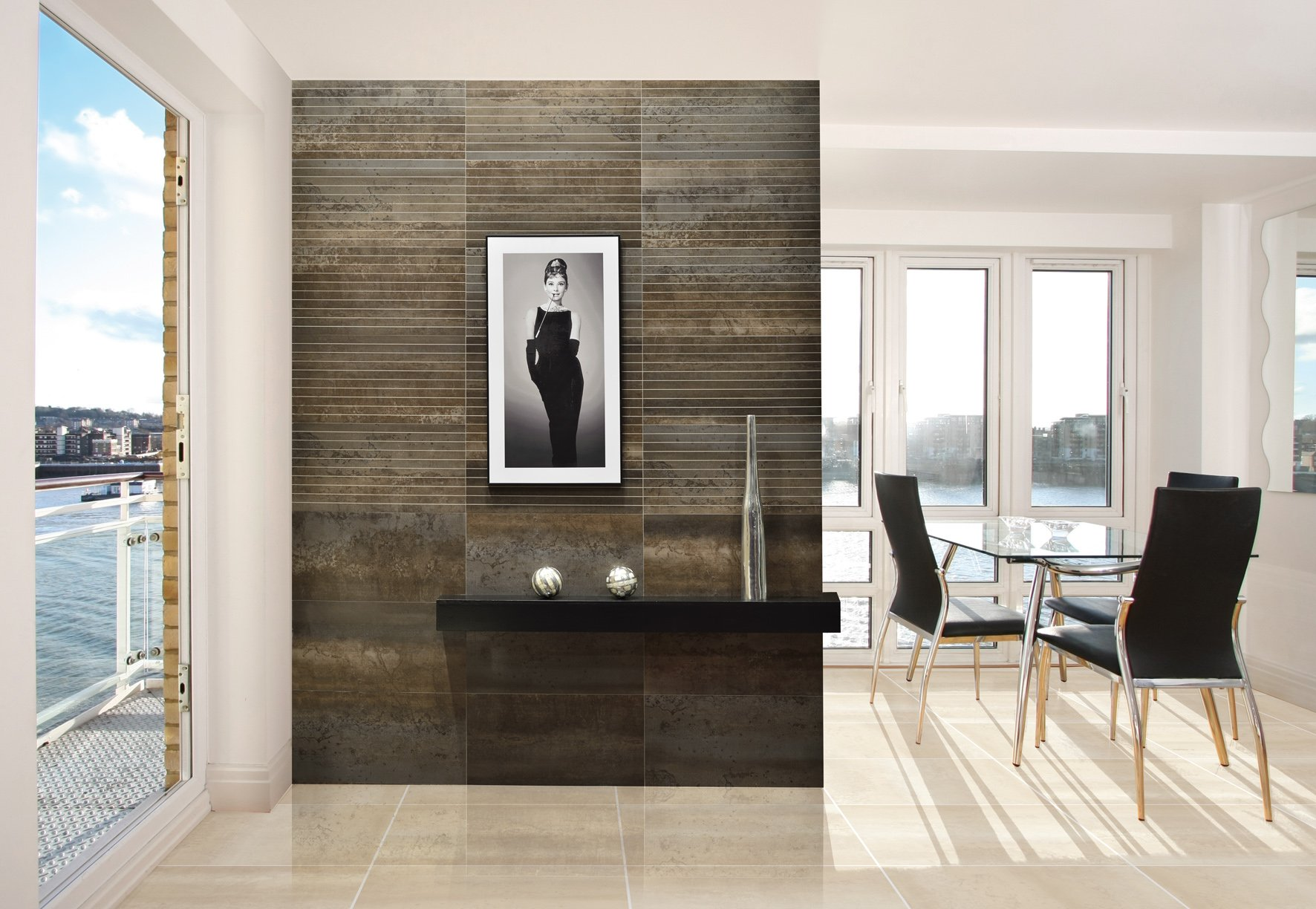 Cosmos Lux 60. Rectified porcelain floor tile, suitable for interior spaces.