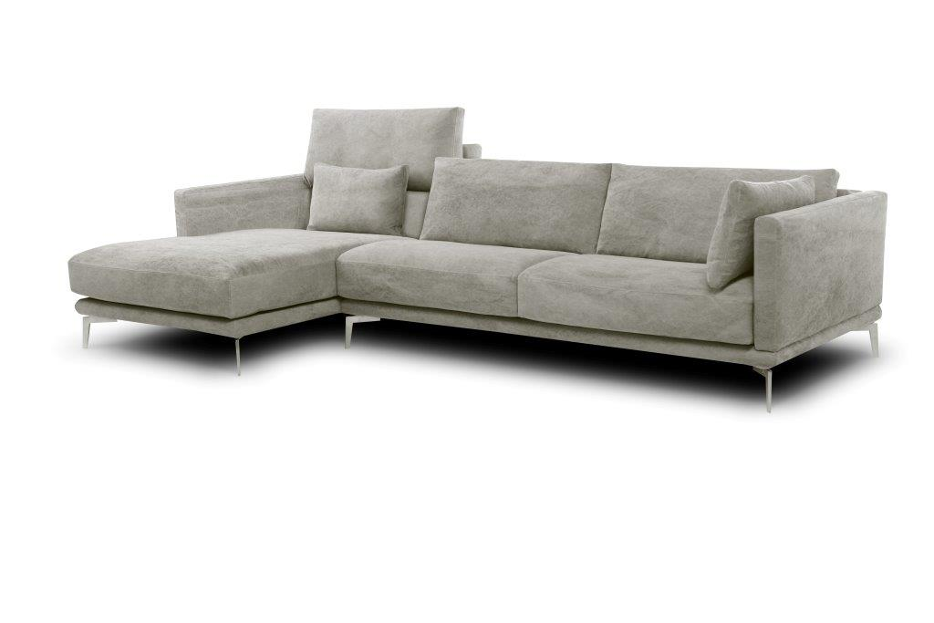 Modern sofa with clean lines and made for comfort!