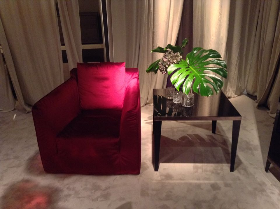 New velvet armchairs in store!