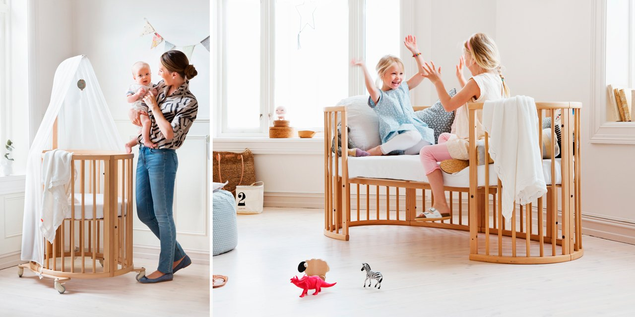 Stokke Sleepi / The bed that is growing with your baby.