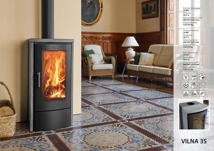 Energy Wood Stove-VILNA