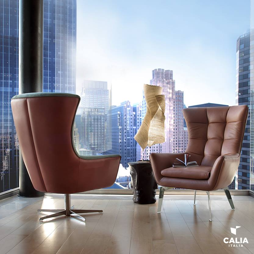 A modern armchair by CaliaItalia! You can find it in store