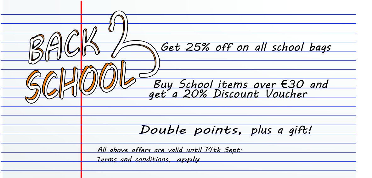 Back To School Offers at Kyknos store