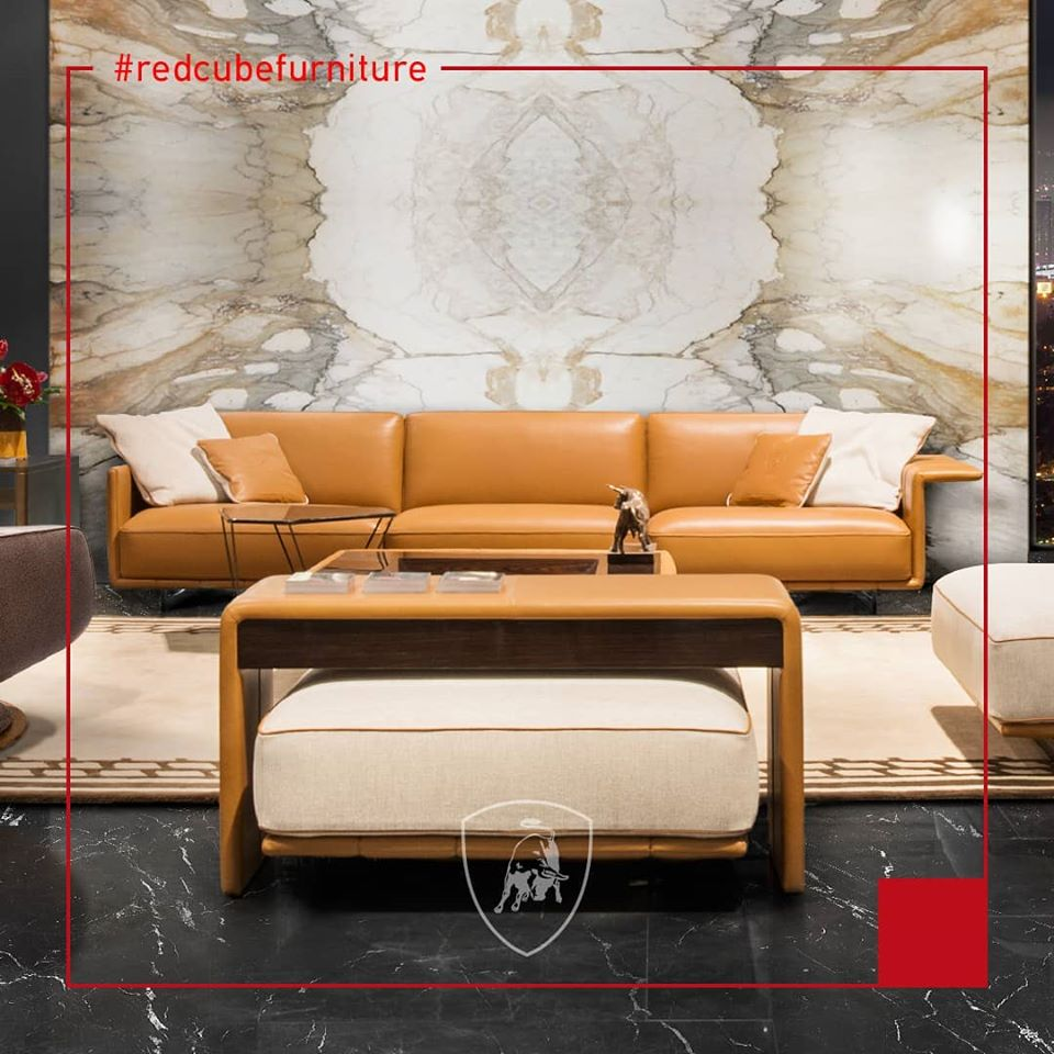 Discover Lamborghini Furniture at Red Cube Furniture !  The furniture perfectly embodies the Informal Luxury concept of the Automobili Lamborghini lifestyle