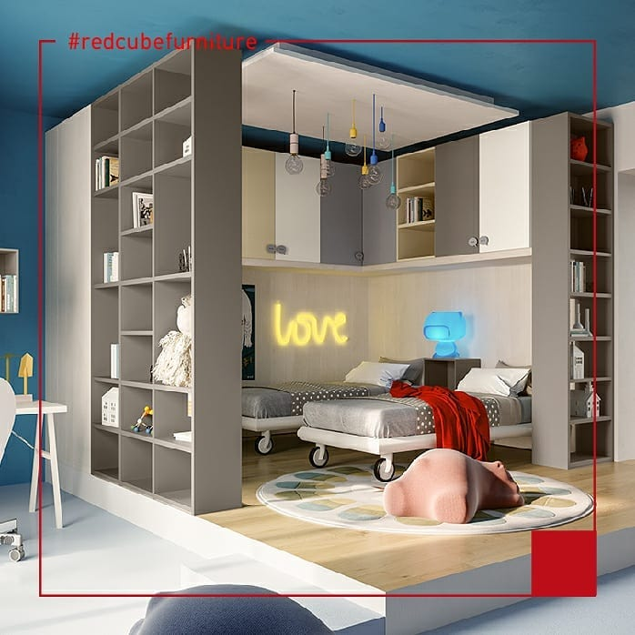 Create a Smart Home Office and Playroom Combo. Call us on 25 720371 for more info