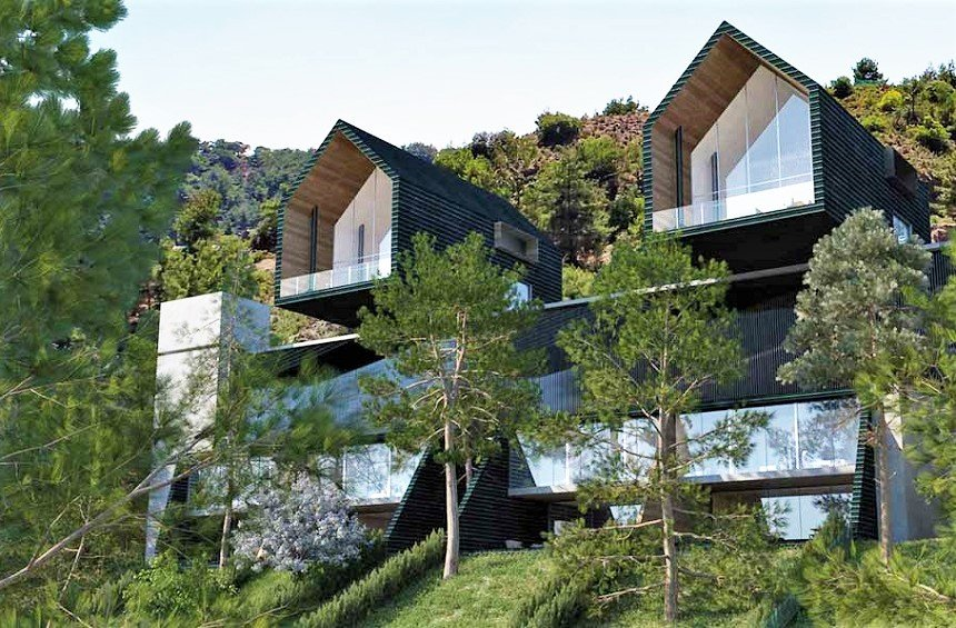 An impressive new project has been designed in the Limassol mountain region!