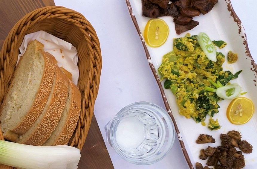 The ancient tradition of delicious dishes made from the wild plants of the Limassol mountains!