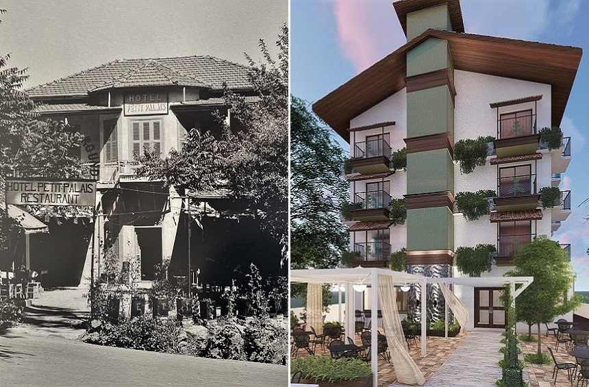 The rebirth of a historic hotel in the mountains of Limassol!