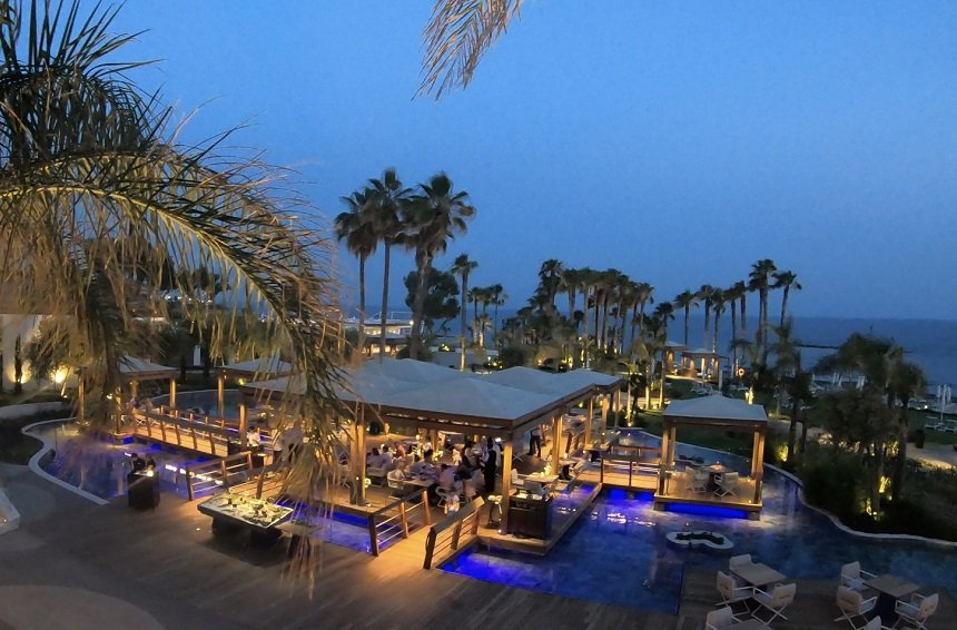 Islands: The Limassol Restaurant set upon little 'islands' by the sea!