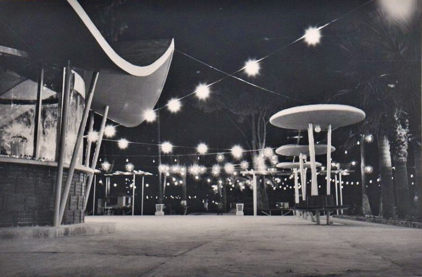 Το μοντέρνο αναψυκτήριο του Δημόσιου Κήπου Λεμεσού
