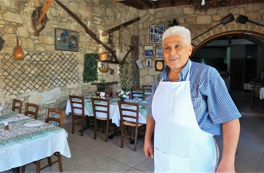 Palati tavern: A traditional tavern with an artisan cook, in the mountains of Limassol!
