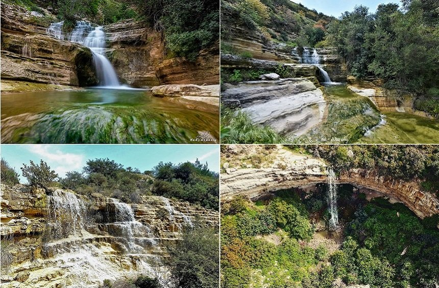 Seasonal Waterfalls in Limassol!