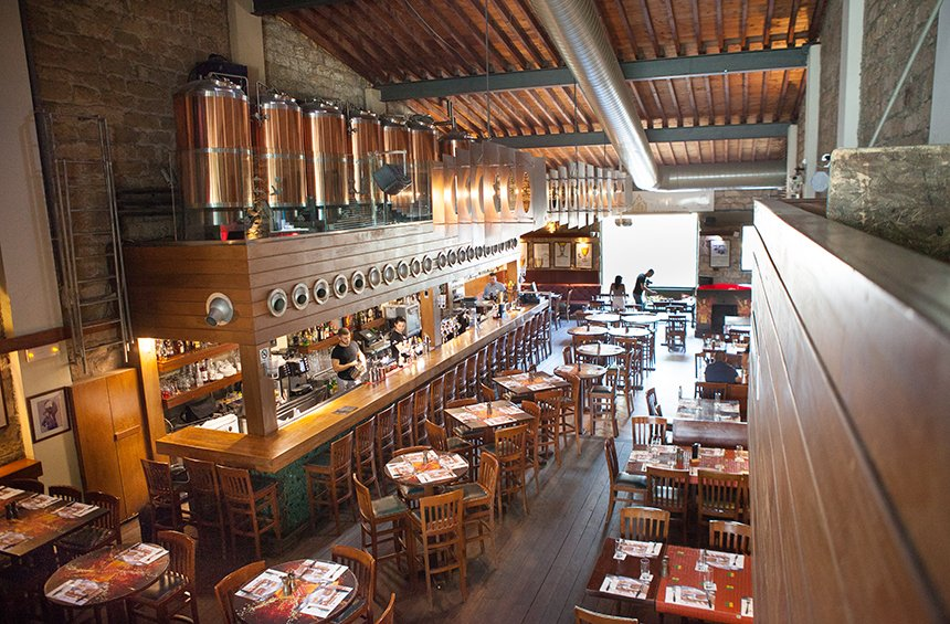 Draught Microbrewery: The restaurant that makes its own beer in the heart of Limassol!