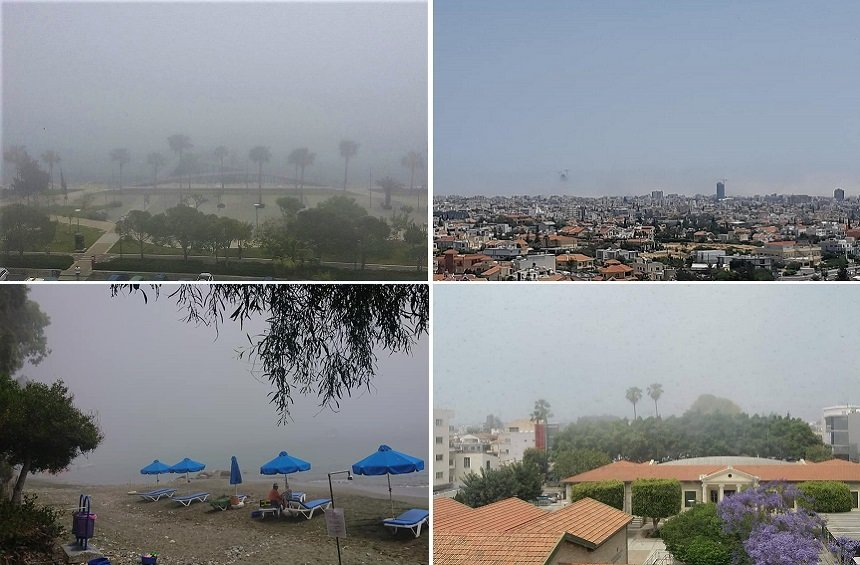 So what exactly was that cloud that ended up hiding the May sun in Limassol?