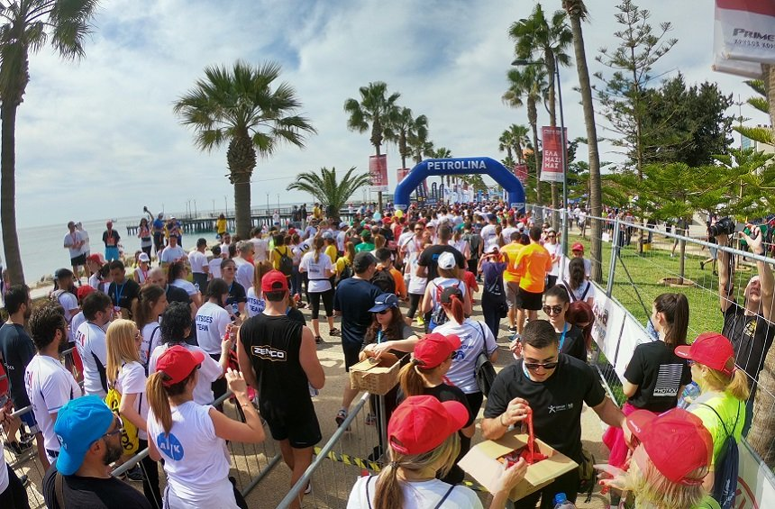 PHOTOS + VIDEO: 10,000 people flooded the Limassol seafront park for this lively, vibrant event!