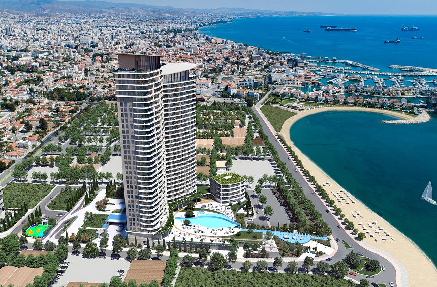 Blu Marine: An innovative project that shines a light on a new seaside spot in Limassol!