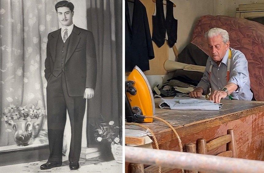 Ο Φίλιππος Οδυσσέως είναι ένας από τους τελευταίους ράφτες μιας άλλης εποχής!