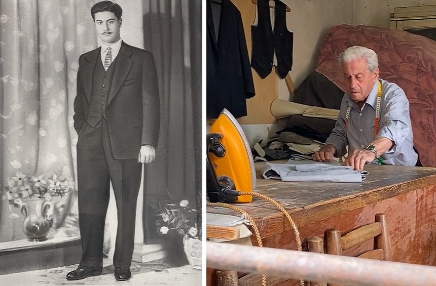 Filippos Odysseos is one of the last tailors of another era!