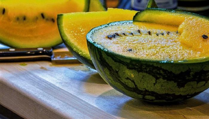 Limassol produces yellow watermelons, which are actually sweeter than the red ones!
