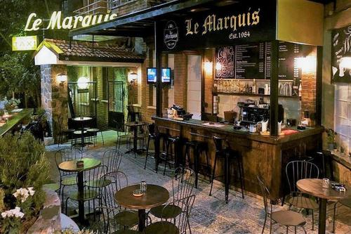 Le Marquis: A historical entertainment venue spikes the evenings in Platres!