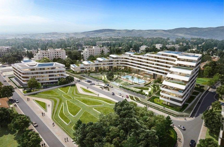 PHOTOS: An horizontal development with gardens and special design is coming to Limassol