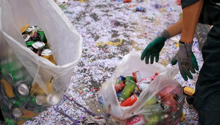 250 bags of recycling items and 15000+ spray cans were collected at the parade of Sunday!