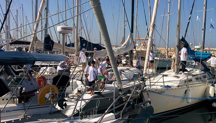 First stop in Limassol Marina for Cyprus-Israel Regatta 2016