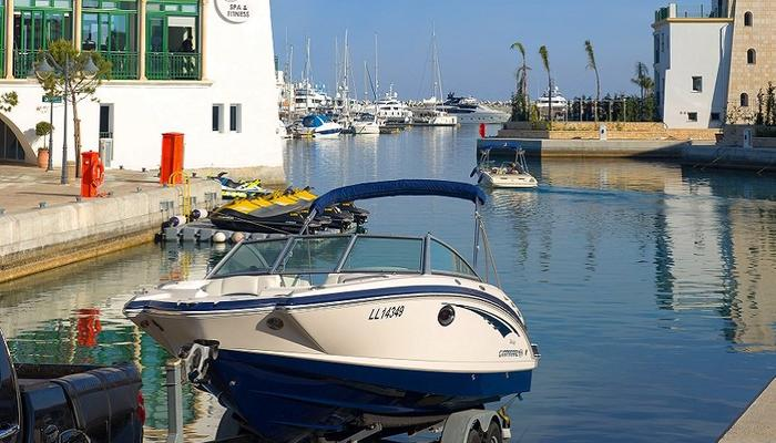 Did you think that the Limassol Marina was not for you own boat, too?
