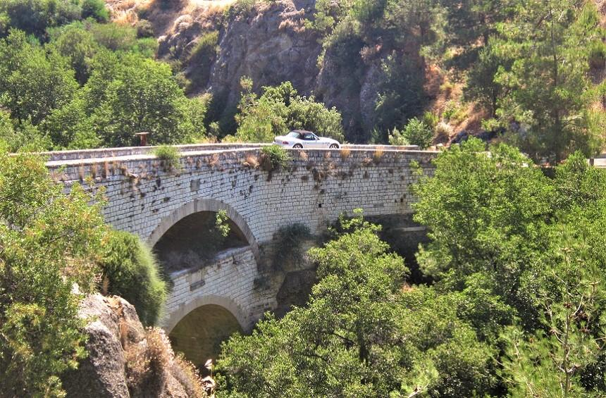 The double bridge of Trimiklini