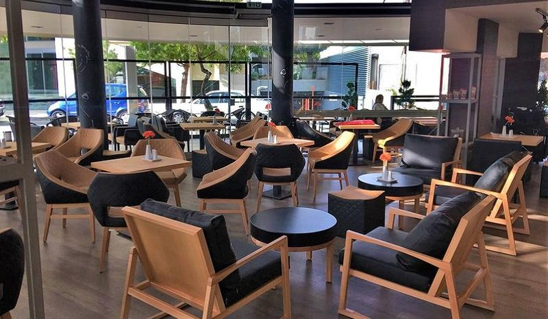 The first images from the new opening at Makarios Avenue in Limassol!