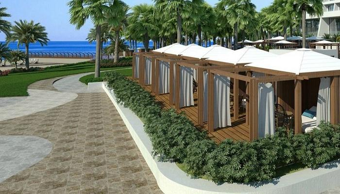 NEW: Here come the cabana suites by the pool and the sea in Limassol!