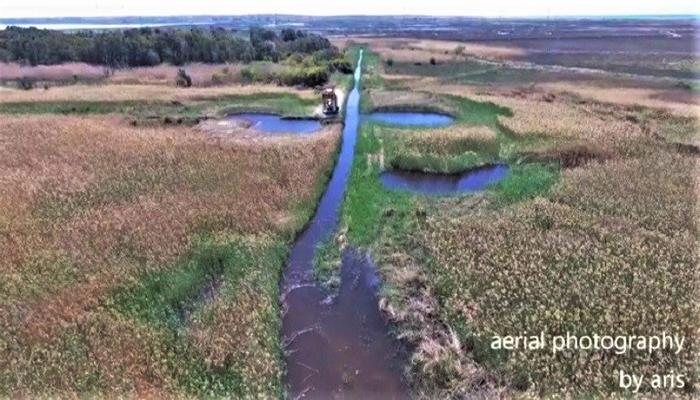 VIDEO: The magical picture of the Akrotiri marsh after the restoration works!