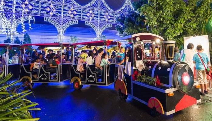 The ultimate Christmas magic at Limassol's new, large theme park!