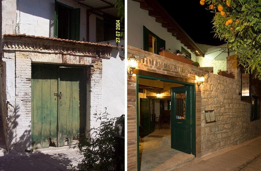 Stavros talks about the old stable he turned into a famous tavern in Omodos village!