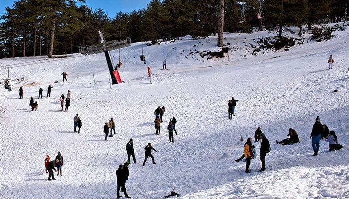 VIDEO: Scenes of joy and games on the first images from the Troodos ski resort!
