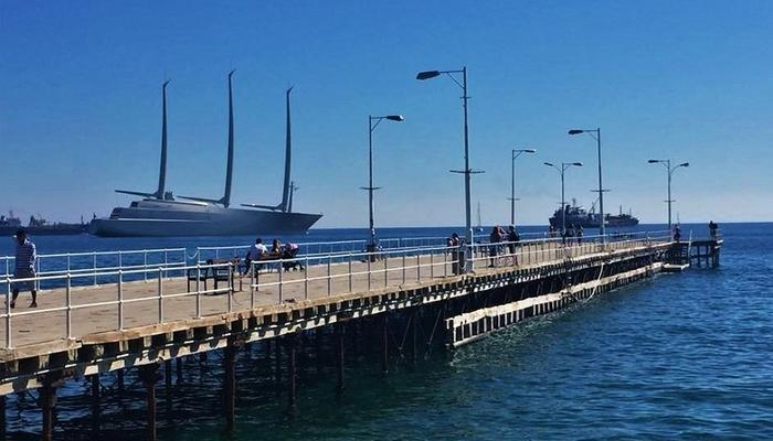 PHOTOS: A one-of-its-kind, 143-meter long, gigantic vessel in Limassol!