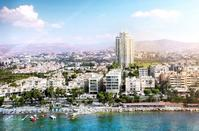 PHOTOS: A new vertical development in Limassol the middle of evergreen gardens!