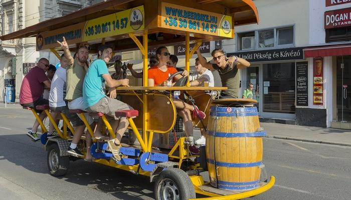 The Beer Bike comes to Limassol!