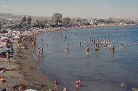 PHOTOS: People and goats used to bathe side by side at a popular beach in Limassol!