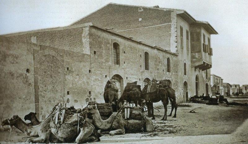 A road for camels in Limassol's past, is the place for walks and coffee now!