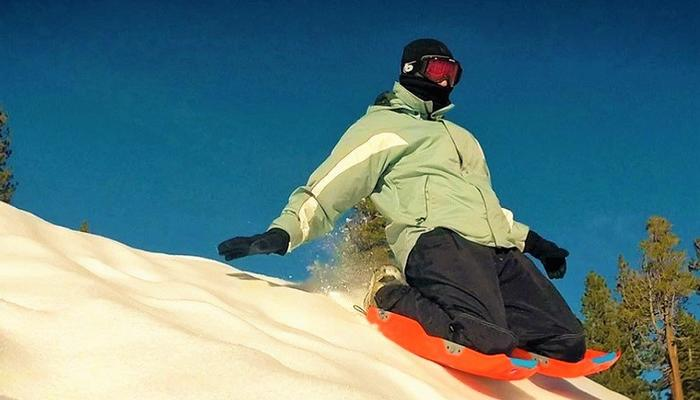 VIDEO: This is the new craze for sliding on the snow!