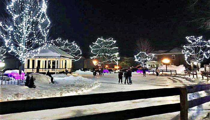 'North Pole' Square in Limassol with 20+ tons of ice!