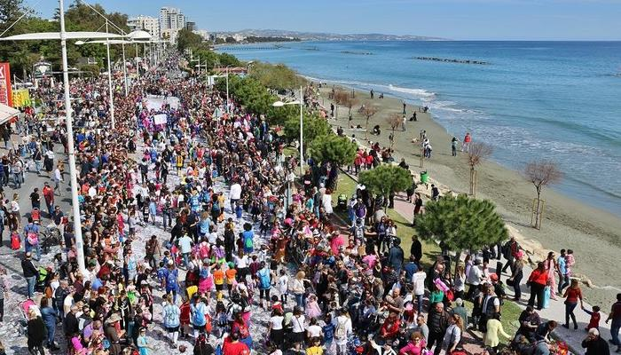 Extremely crowded is how Limassol is going to be the weekend of Carnival!