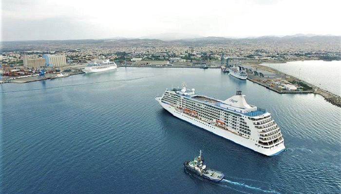 VIDEO: An utterly impressive aerial video of the Limassol port and its cruise ships!
