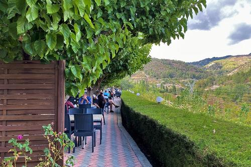 Amiandos Gardens: A tavern in the Limassol mountains with a rich buffet and a wonderful view!